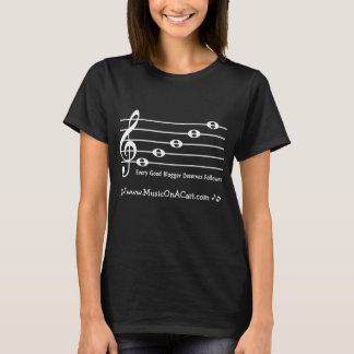 Camiseta A frase do Clef de triplo Camisa-Personaliza com