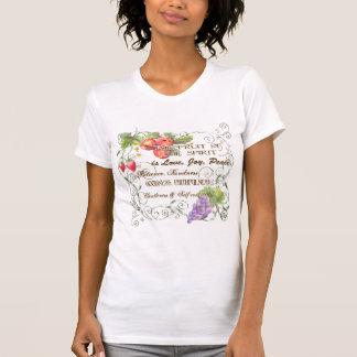 Camiseta A fruta do espírito é amor, alegria, t-shirt da