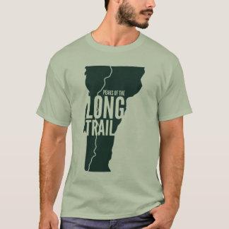 Camiseta A fuga longa de Vermont repica o t-shirt da lista
