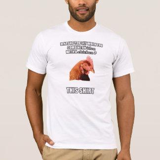 Camiseta A galinha da Anti-Piada está nele outra vez!