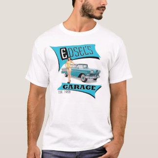 Camiseta A garagem de Edsel no azul