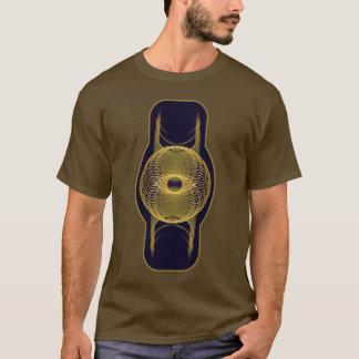 Camiseta A geometria sagrado básica dos homens