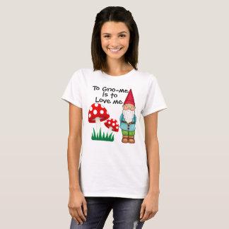 Camiseta A Gno-mim é amar-me!