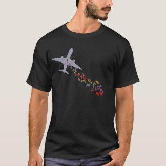 Camiseta A gota bate não bombas