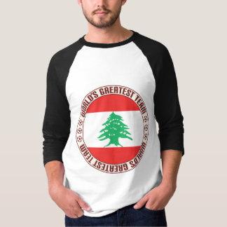 Camiseta A grande equipe de Líbano