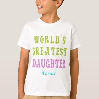 Camiseta A grande filha do mundo