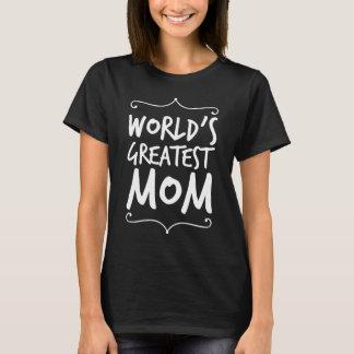 Camiseta A grande mamã do mundo