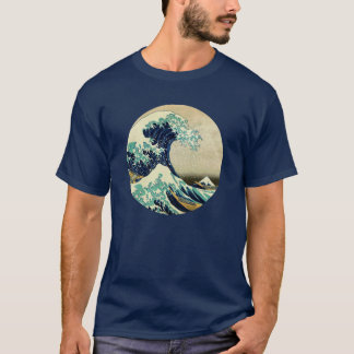 Camiseta A grande onda