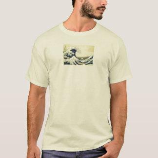 Camiseta A grande onda em Kanagawa