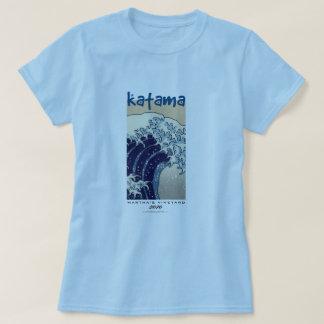 Camiseta A grande onda fora de Katama