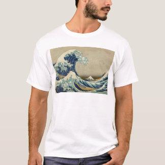 Camiseta A grande onda Kanagawa