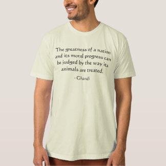 Camiseta A grandeza de uma nação… T-shirt