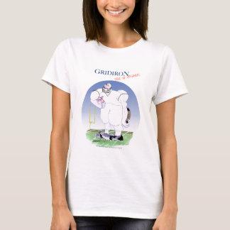 Camiseta A grelha não toma nenhum prisioneiro, fernandes