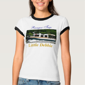 Camiseta A guarda florestal reboca o t-shirt das senhoras