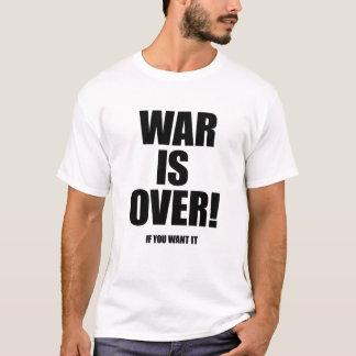 Camiseta A guerra acaba-se