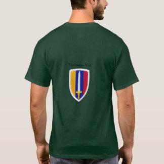 Camiseta A guerra de USARV MACV Vietnam Nam controla o