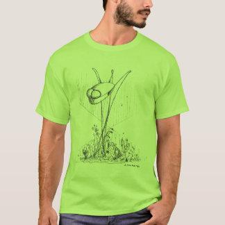 Camiseta A guerra dos mundos Remix: Ornamento do jardim