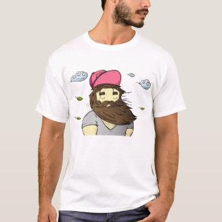 Camiseta A harmonia da natureza -- Tshirt do homem da barba