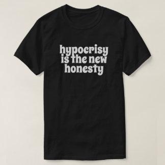 Camiseta A hipocrisia é a honestidade nova