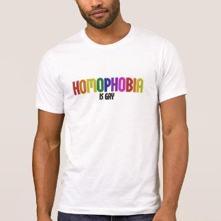 Camiseta A homofobia é ALEGRE