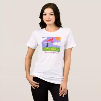 Camiseta A igreja cura da esperança vai ao t-shirt do