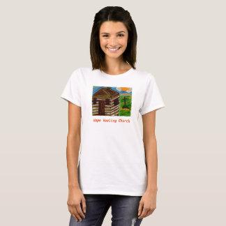 Camiseta A igreja cura Jesus da esperança salvar o t-shirt