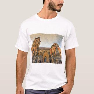 Camiseta A igreja de St Martin, Colmar, France