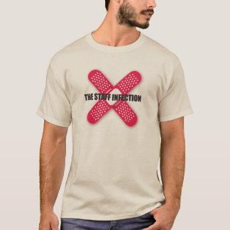 Camiseta A infecção dos funcionarios