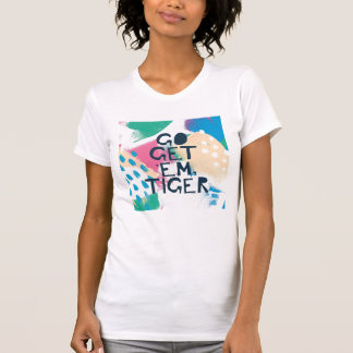 Camiseta A inspiração brilhante II | vai obtem-lhes o tigre