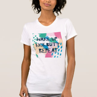 Camiseta A inspiração brilhante IV | acorda a repetição do