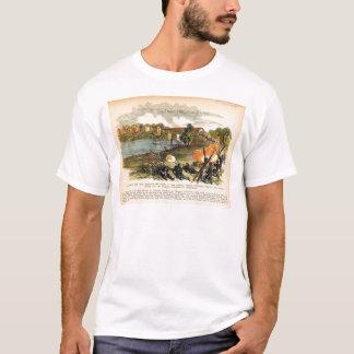 Camiseta A invasão americana de Morgan da guerra civil em