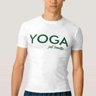 Camiseta A ioga apenas respira