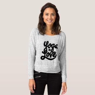 Camiseta a ioga é amor