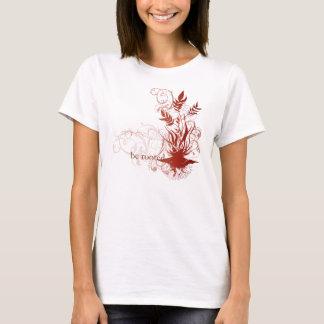 """Camiseta A ioga fala: """"Seja enraizado: Chakra vermelho"""