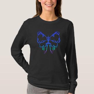Camiseta A ioga inspirada levanta começos novos da