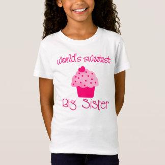 Camiseta A irmã mais velha a mais doce do mundo