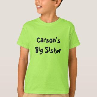 Camiseta A irmã mais velha de Carson