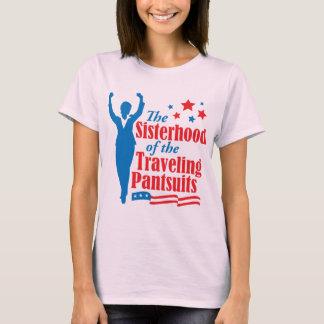 Camiseta A irmandade dos Pantsuits de viagem