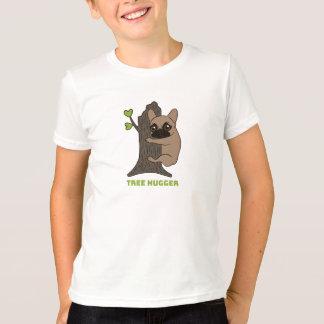 Camiseta A jovem corça preta Frenchie da máscara é um