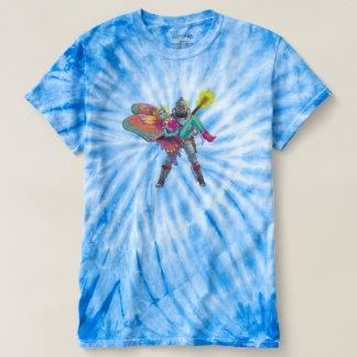 Camiseta A Laço-Tintura encontra o pop da ficção científica