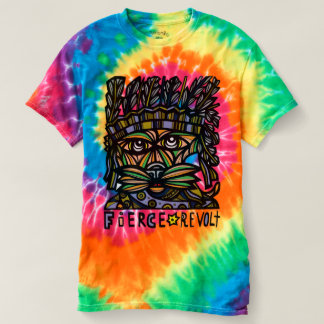 """Camiseta """"A Laço-Tintura espiral dos homens da revolta"""