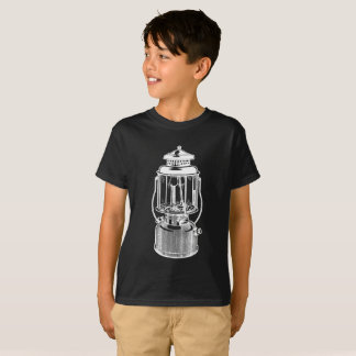 Camiseta A lanterna de acampamento do vintage caçoa o T