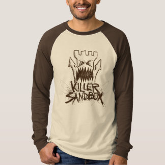 Camiseta A lápis logotipo de KillerSandBox do desenho