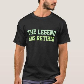 Camiseta A legenda aposentou-se