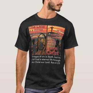 Camiseta A lei é um t-shirt do espelho