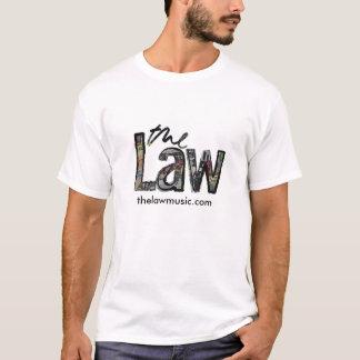 Camiseta A lei - t-shirt do logotipo dos homens