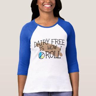 Camiseta A leiteria do cozinheiro chefe da alergia de