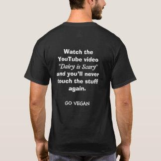 Camiseta A leiteria é assustador