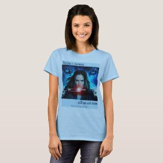 Camiseta A leitura está sonhando o t-shirt