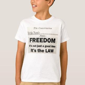 Camiseta A liberdade não é apenas uma boa ideia